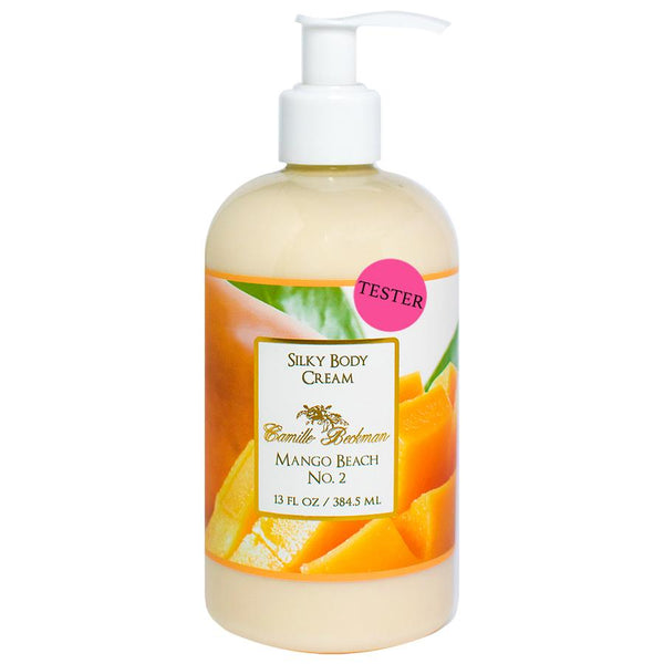 Silky Body Cream 13oz Mango Beach No.2 (Tester) Body Cream Camille Beckman