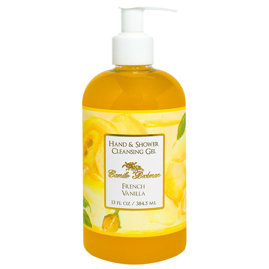 Hand and Shower Cleansing Gel 13oz French Vanilla (6/case)