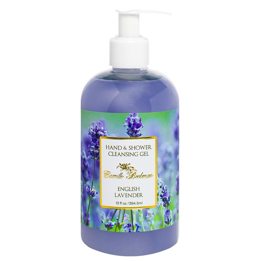 Hand and Shower Cleansing Gel 13oz English Lavender (6/case)