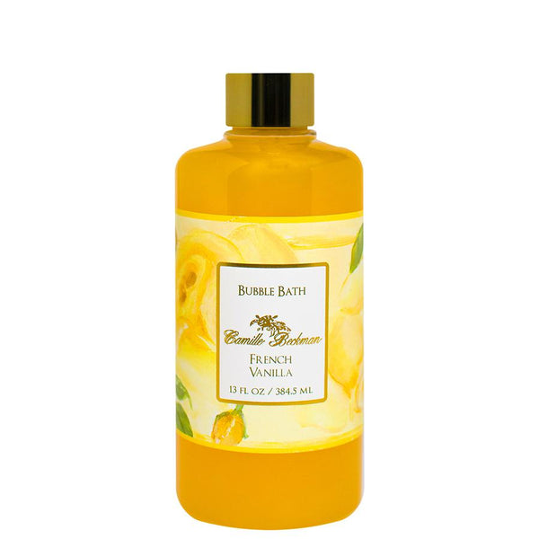 Bubble Bath 13oz French Vanilla (6/case) Bubble Bath Camille Beckman
