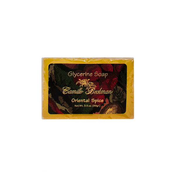 Glycerine Soap Oriental Spice (6/case) Bar Soap Camille Beckman