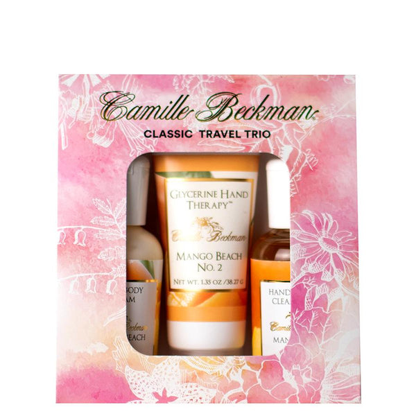 Mango Beach No.2 Classic Travel Trio (6/Case) Gift Set Camille Beckman Wholesale