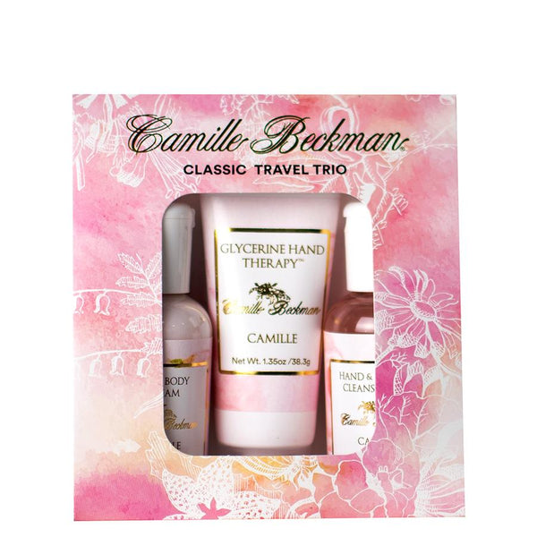 Camille Classic Travel Trio (6/Case) Gift Set Camille Beckman Wholesale