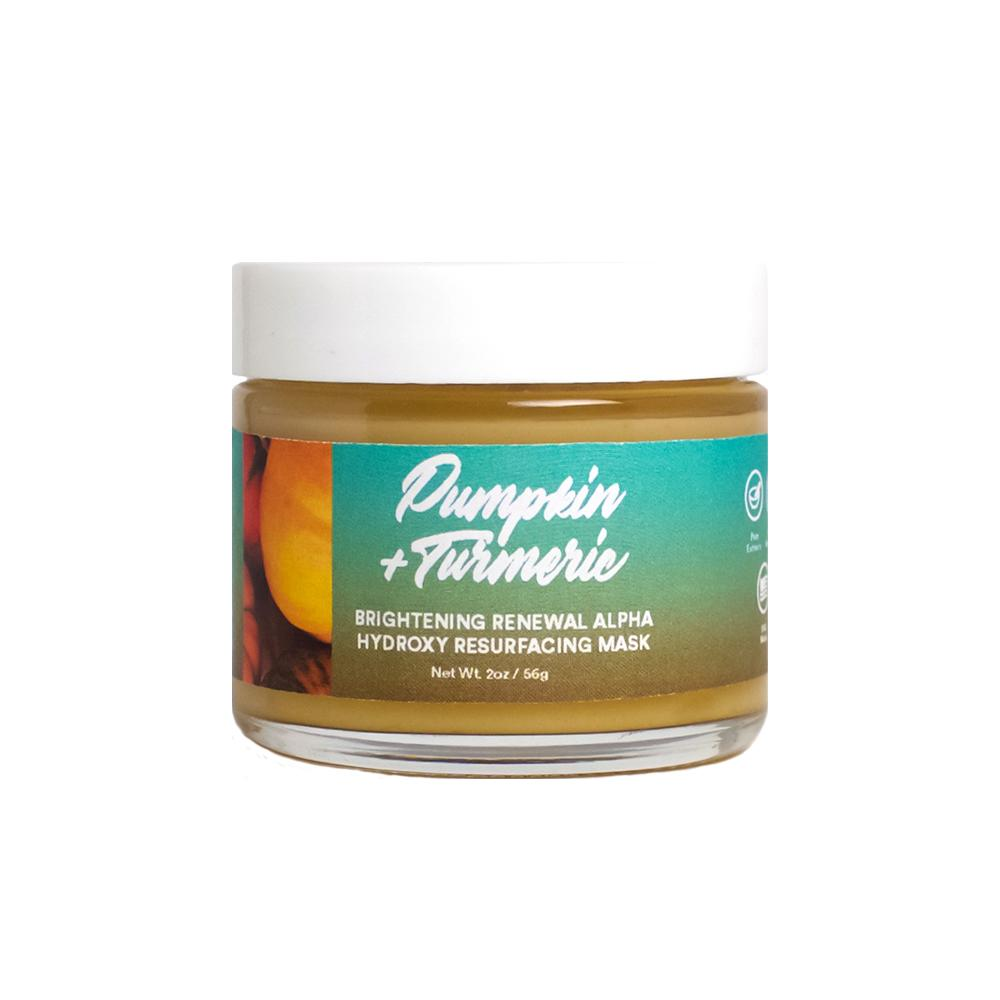 Pumpkin + Turmeric Brightening Renewal Alpha Hydroxy Resurfacing Mask 2oz (6/Case)