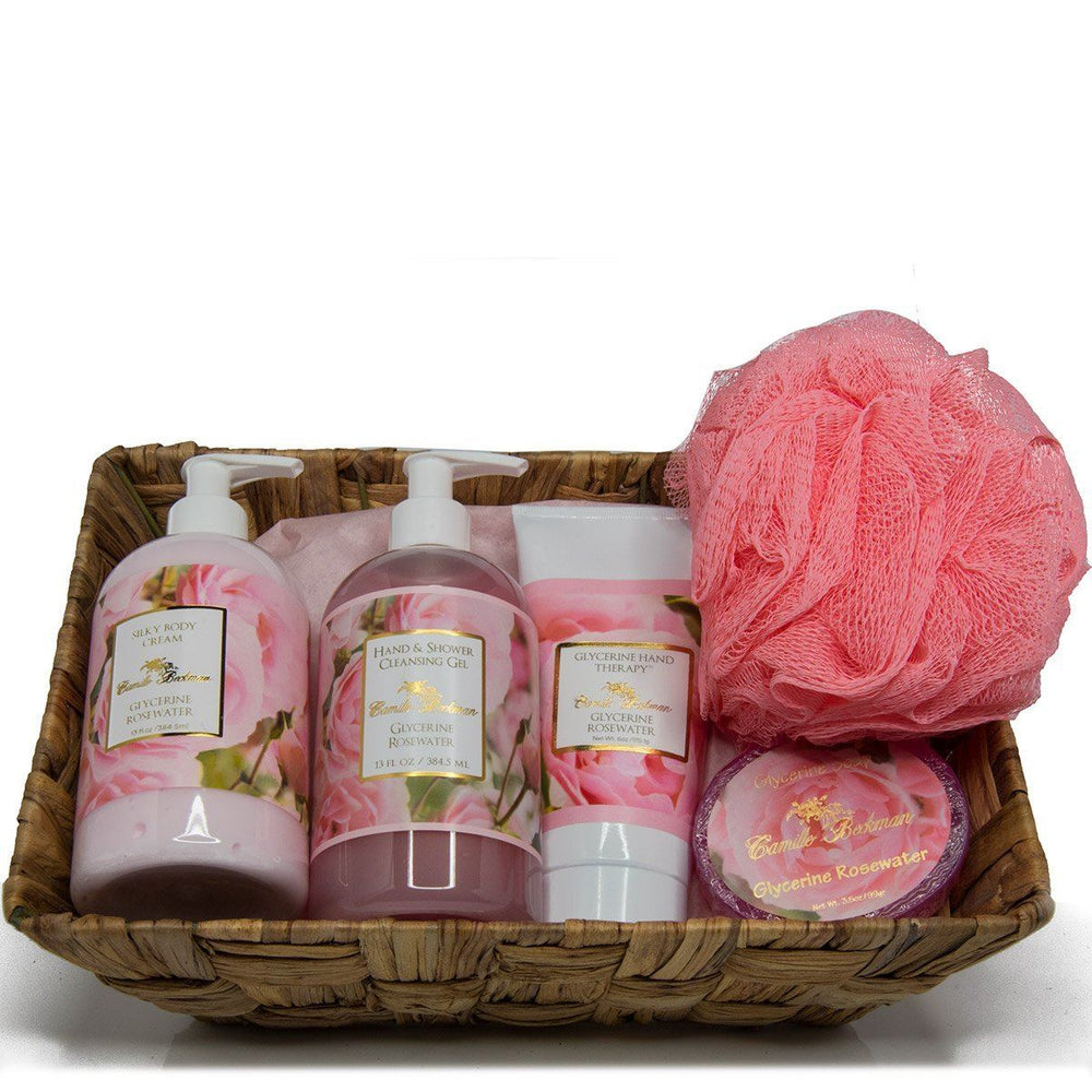 Essentials Gift Basket Glycerine Rosewater (Each)