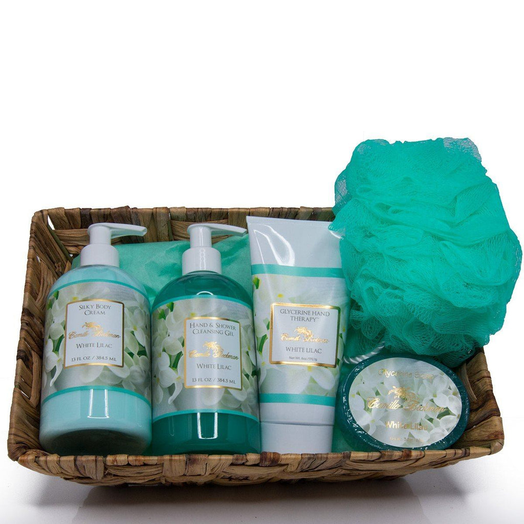 Essentials Gift Basket White Lilac (Each)