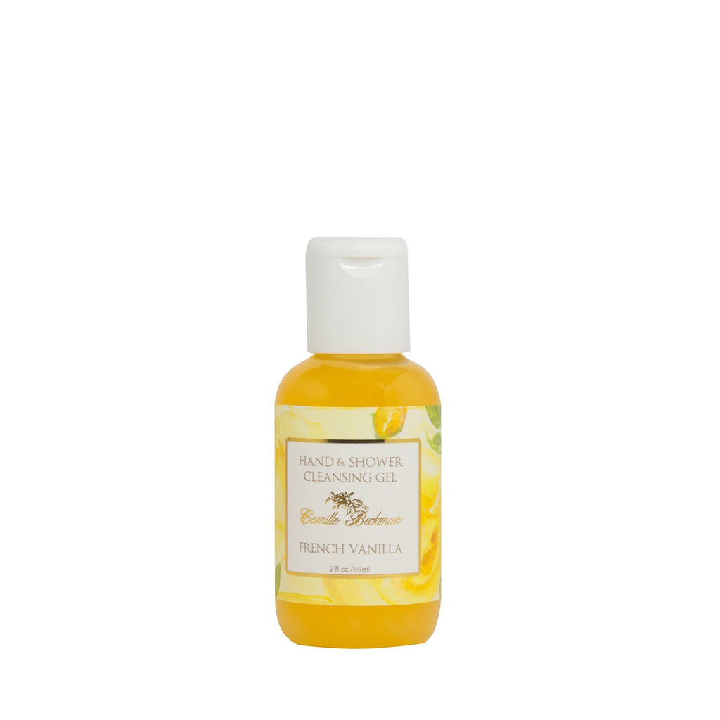 Hand and Shower Cleansing Gel 2 oz French Vanilla (Case/6)