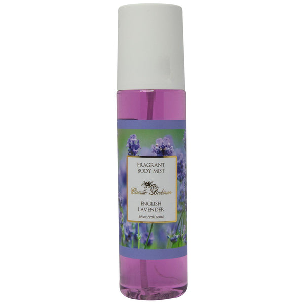 Fragrant Body Mist 8oz English Lavender (Case/6) Body Mist Camille Beckman Wholesale
