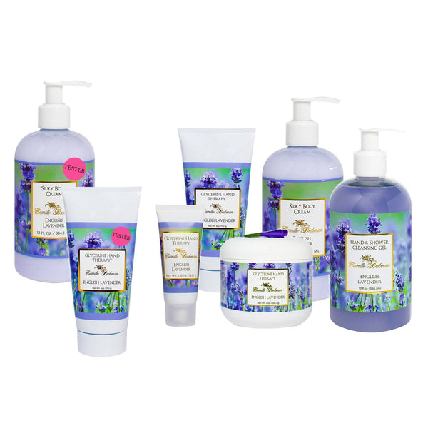 Hand and Body Duet English Lavender (4/case) Gift Set Camille Beckman