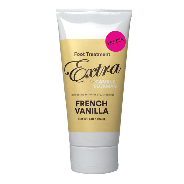 Foot Treatment Extra 6oz French Vanilla (Tester) Foot Cream Camille Beckman