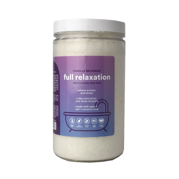 Full Relaxation - Mind and Body Bath Soak (2/Case) Bath Soaks Camille Beckman Wholesale