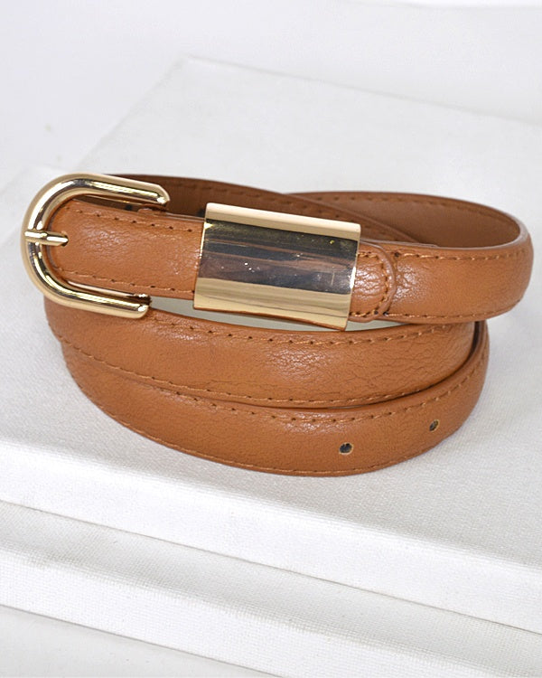 Metal Embellished Buckle Belt id.31554--MY UPSCALE STORE