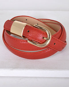 Metal Embellished Buckle Belt id.31554d--MY UPSCALE STORE