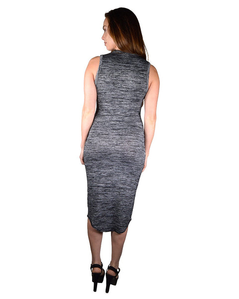Textured Pencil Fit Bodycon Dress-XXS-MY UPSCALE STORE