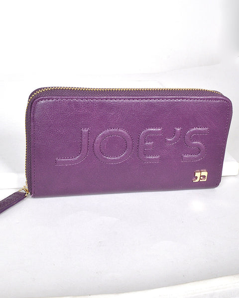 Textured and Embossed Effect Solid Clutch-Purple-MY UPSCALE STORE