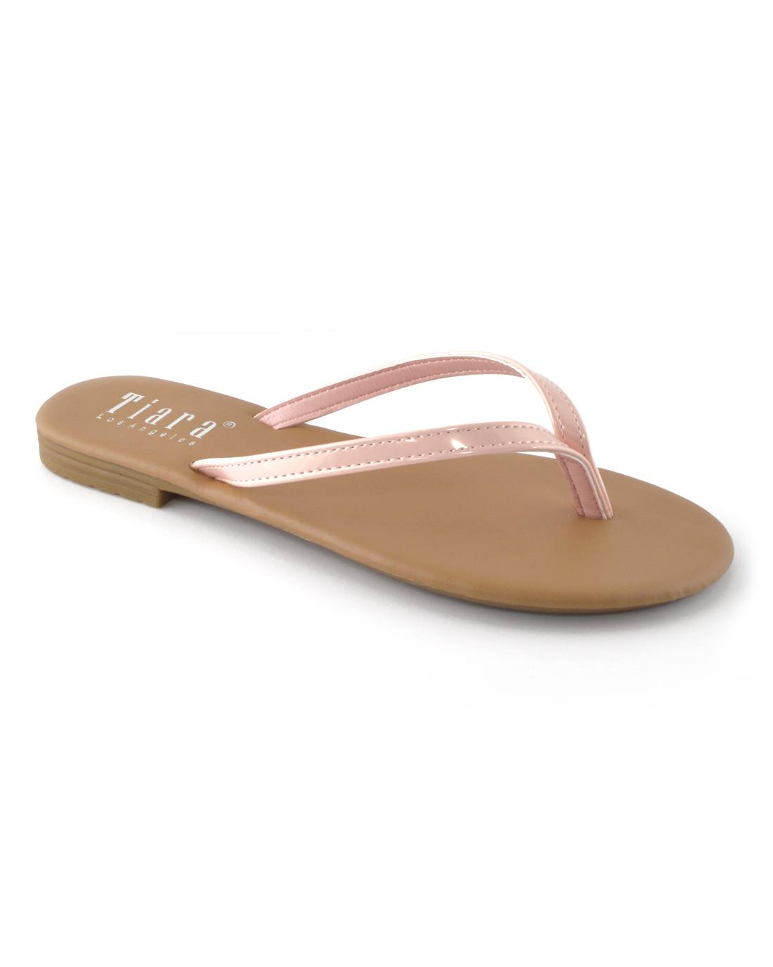 V-Shaped Flat Sandals-5.5-MY UPSCALE STORE