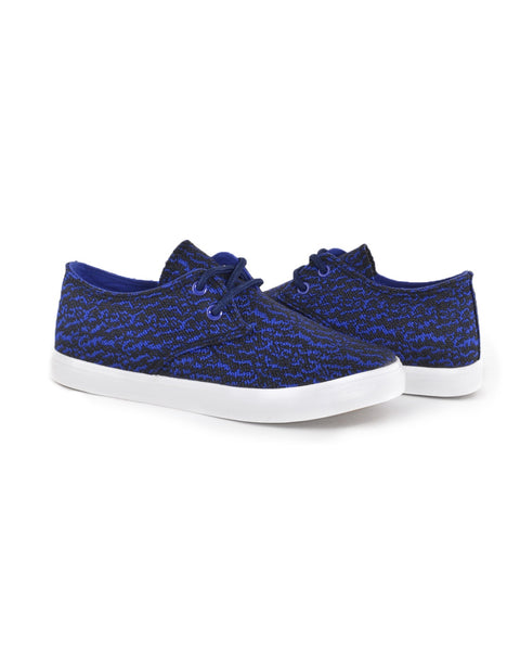 Athletic-chic converse style lace up sneakers w/print-5-MY UPSCALE STORE