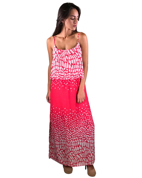 Maxi dress with side slits-S-MY UPSCALE STORE