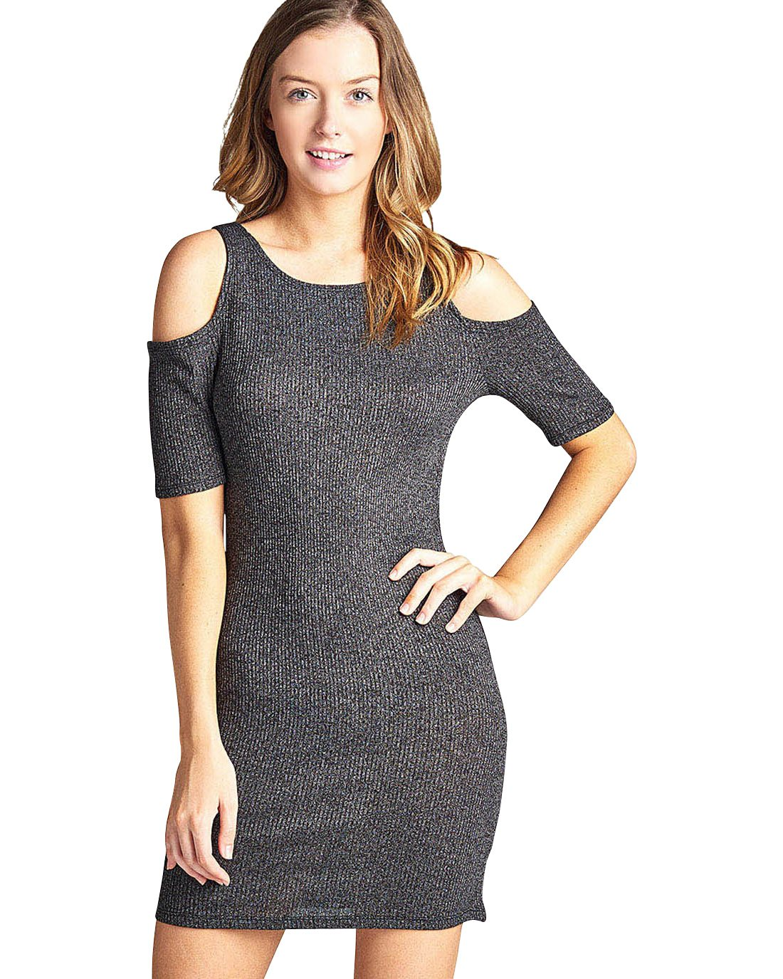 Open shoulders dress-S-MY UPSCALE STORE