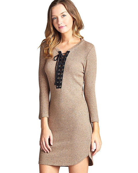 Bodycon fit dress-S-MY UPSCALE STORE