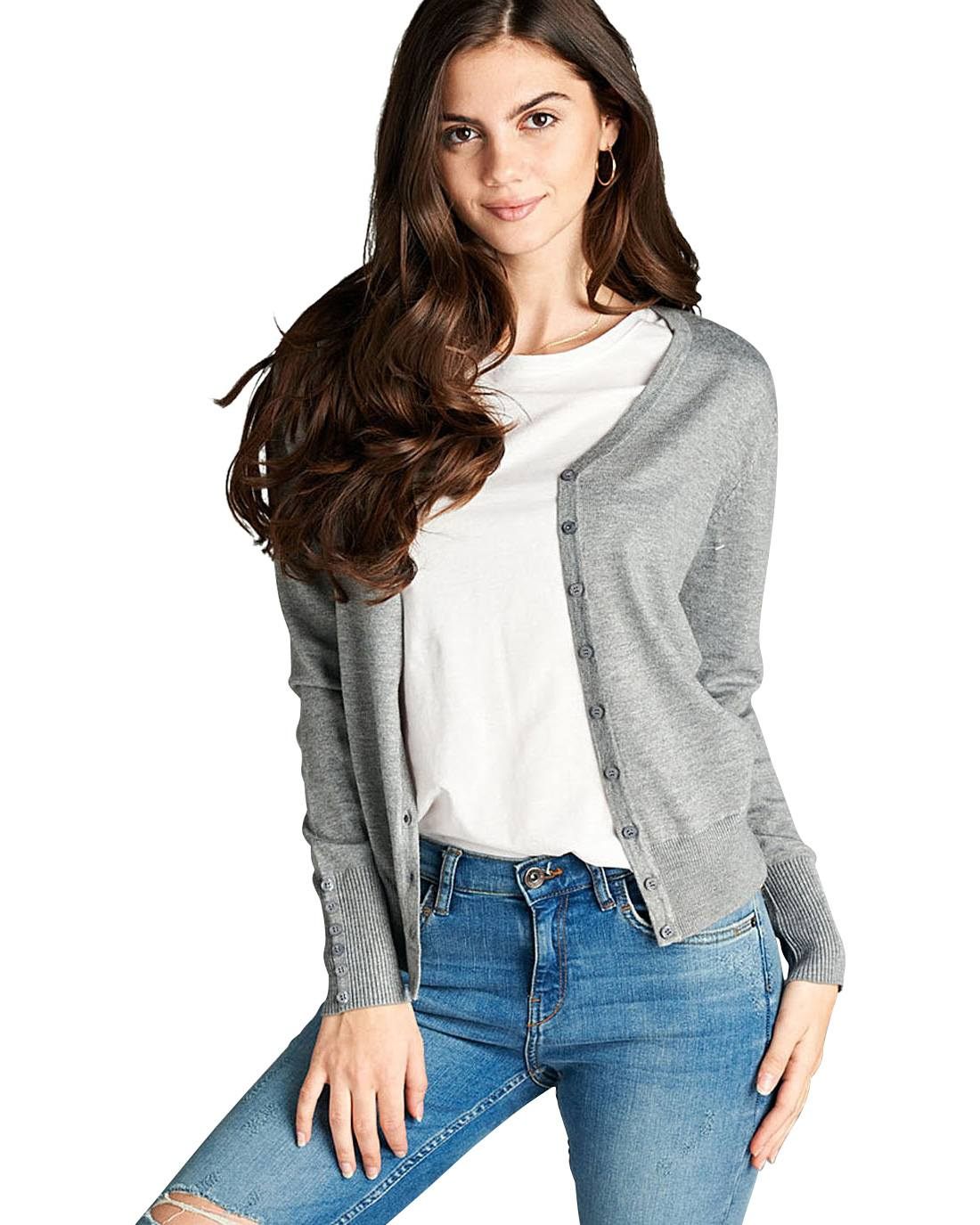 Long sleeve cardigan-S-MY UPSCALE STORE
