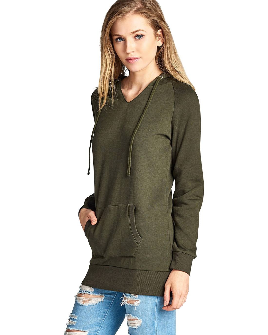 French Terry knit hoodie-S-MY UPSCALE STORE