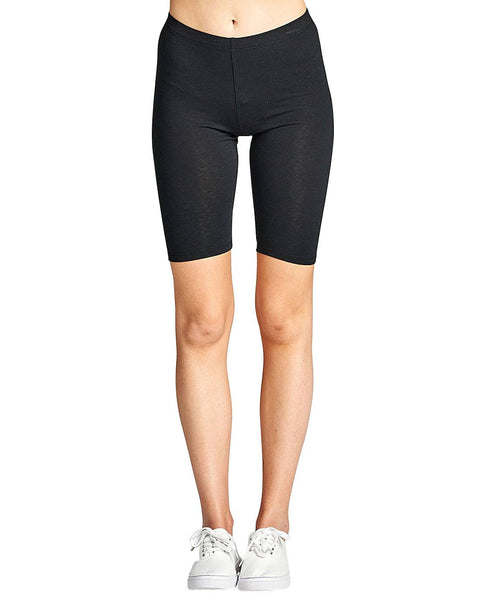 Ladies athletic bike shorts-S-MY UPSCALE STORE