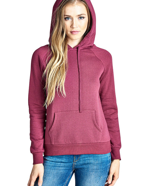 Kangaroo pocket long sleeves hoodie-S-MY UPSCALE STORE