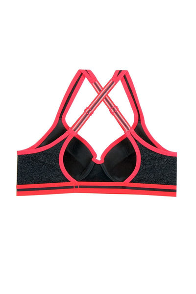 Ladies smooth and seamless  push-up bra