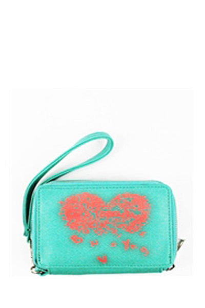 Elegant trendy fashion wallet-Green-MY UPSCALE STORE