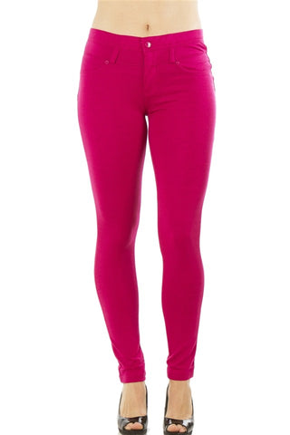 Ladies fashion stretch cotton blend leggings-S-MY UPSCALE STORE