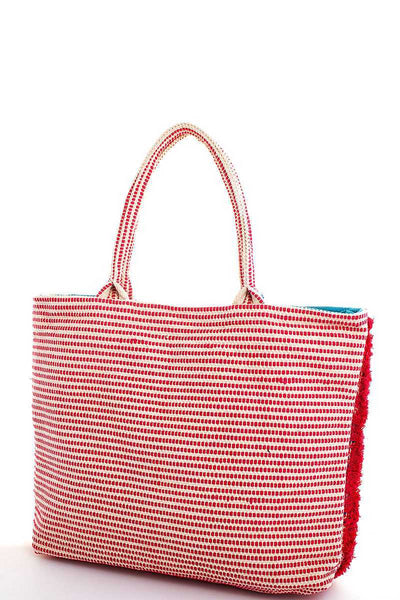 Chic Fashion Soft Tote With Tassel