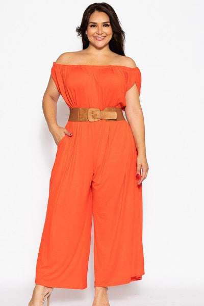Wide Legged Jumpsuit