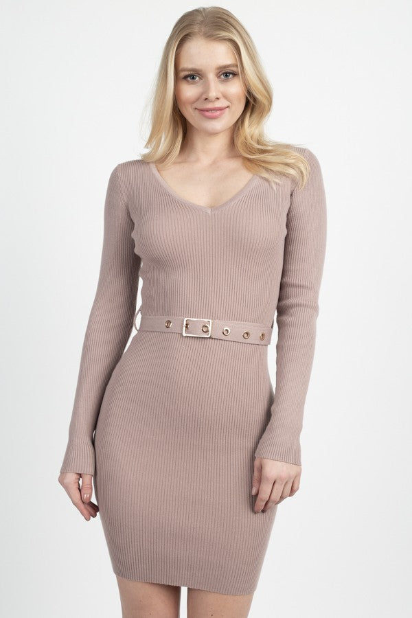 Foiled Ruched Tube Midi Dress