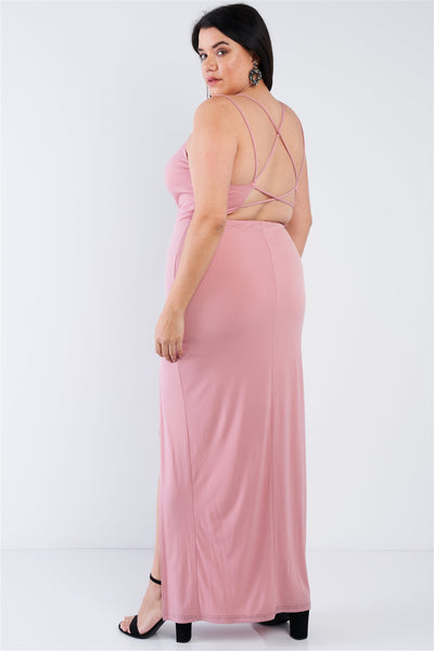Plus Size Sexy Floor Length Dress