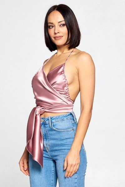 Wrap Around Halter Top
