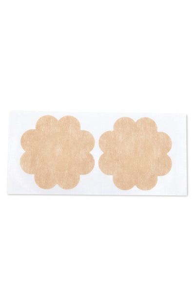 Flower Shaped Adhesive Nipple Covers With Breast Lift Adhesive. Women