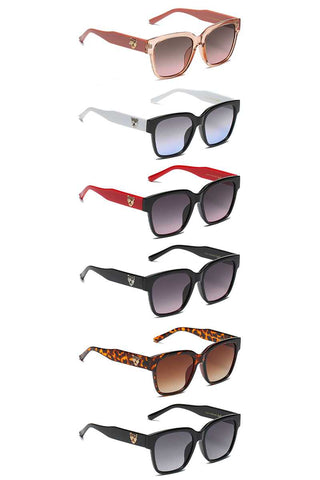 Trendy Animal Side Stud Sunglasses