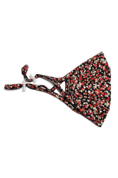 3d Stereoscopic Multi Floral Cotton Mask Made