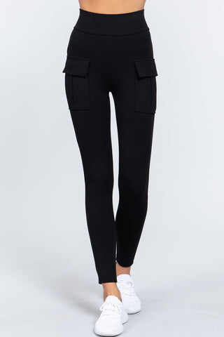 Waistband Side Pocket Jogger Pants
