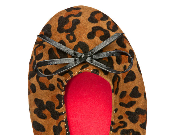 LEOPARD PRINT BALLET FLATS-Shoes, Flats-Small: 5-6.5-MY UPSCALE STORE