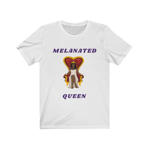 Melanated Queen Heavy Cotton Tee