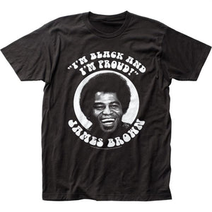James Brown Black and Proud T-Shirt