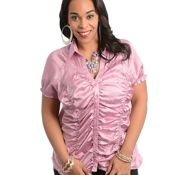 LAVENDER TOP-Plus Sizes, Tops +-XL-MY UPSCALE STORE