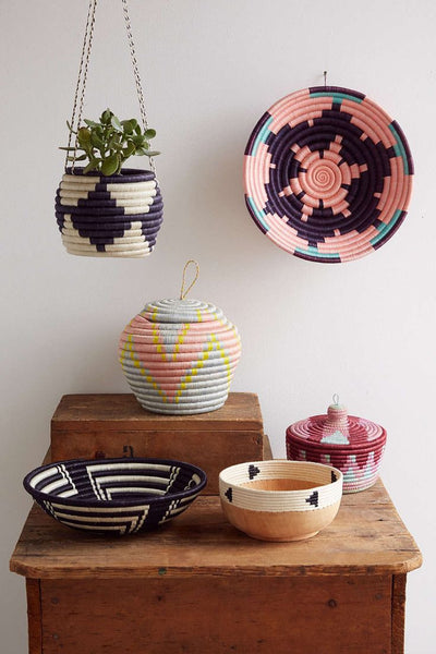 Indego Africa Plateau Baskets decoration