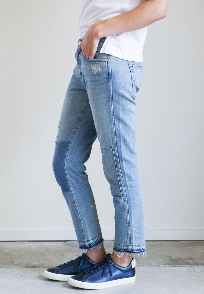 Amo Denim Tomboy Jeans in Forget Me Not