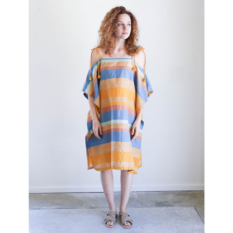 A Peace Treaty Tomar Caftan in Marigold