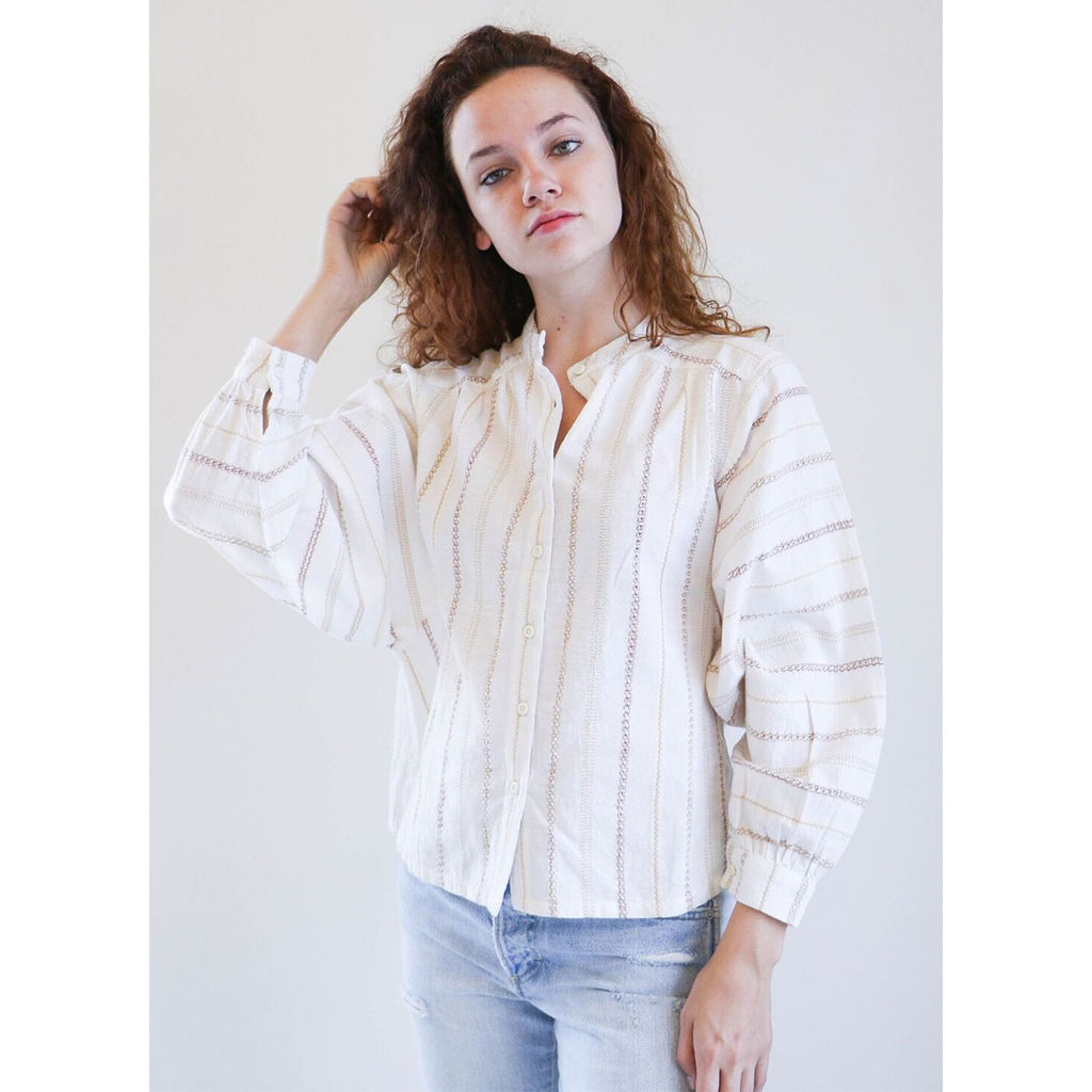 Ace & Jig Barrett Blouse in Ambrosia