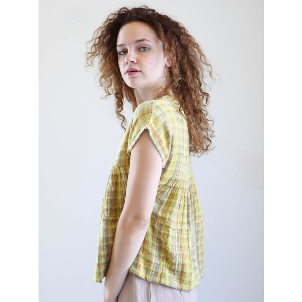 Ace & Jig Marfa Top in Amber