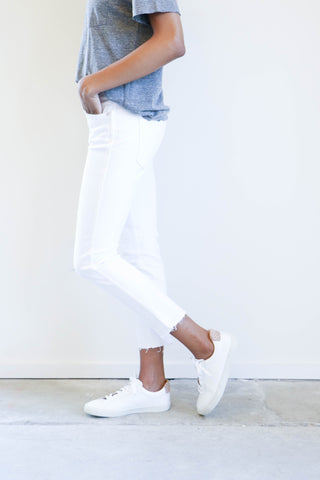 Amo Denim Babe Jeans in Seasalt